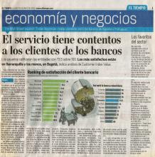 El servicio tiene contentos a los clientes de los bancos