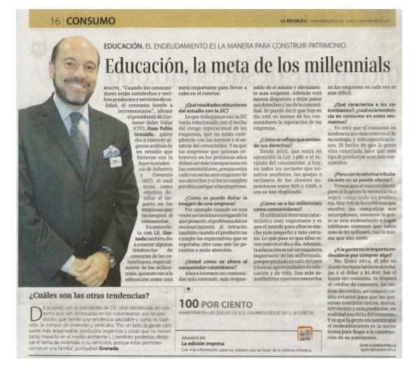 Educación, la meta de los millennials